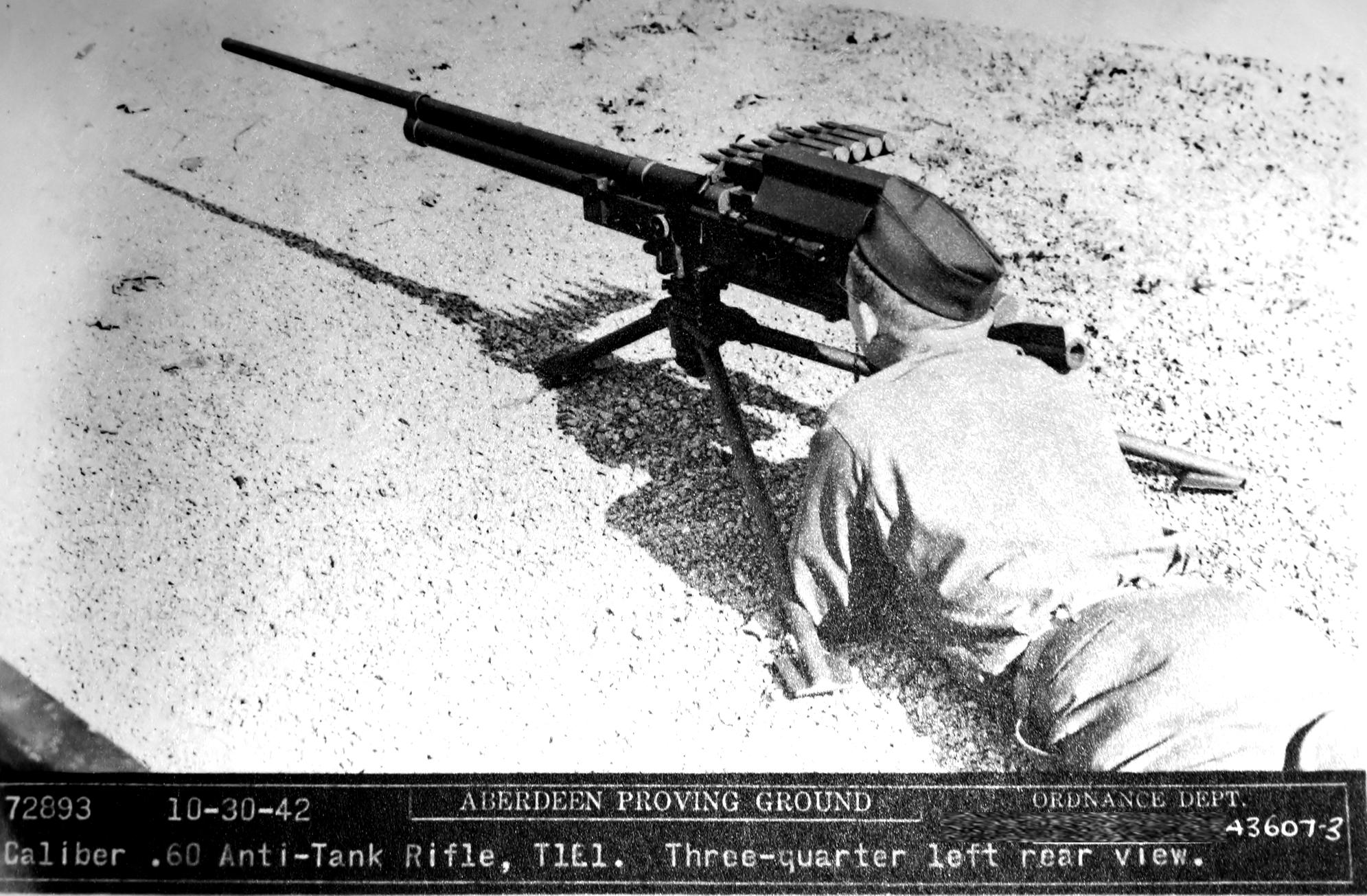 T1/T1E1 アメリカ製.60口径対戦車ライフル | TeamBtrb